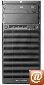 Servidor ProLiant HP ML110 G7 na MicroSafe