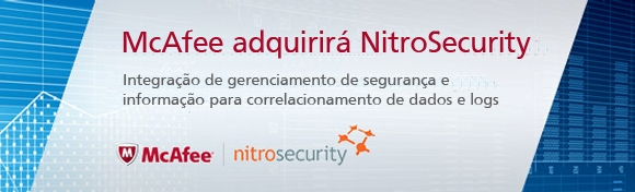 McAfee adquire a NitroSecurity